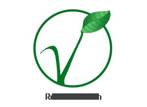 logo rein pflanzlich
